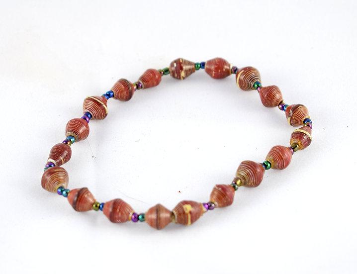 Handmade bead anklet - style 1