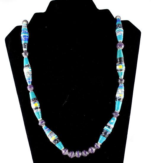 Handmade bead necklace - style 14