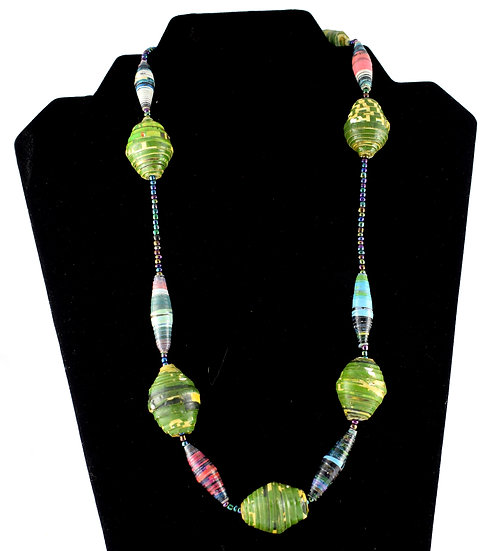 Handmade bead necklace - style 13