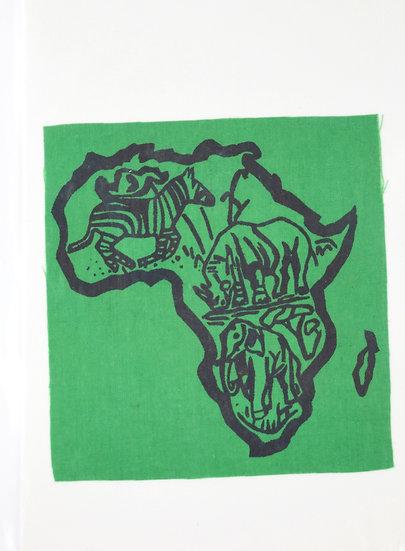 Handmade Greeting Card - Africa Style 4