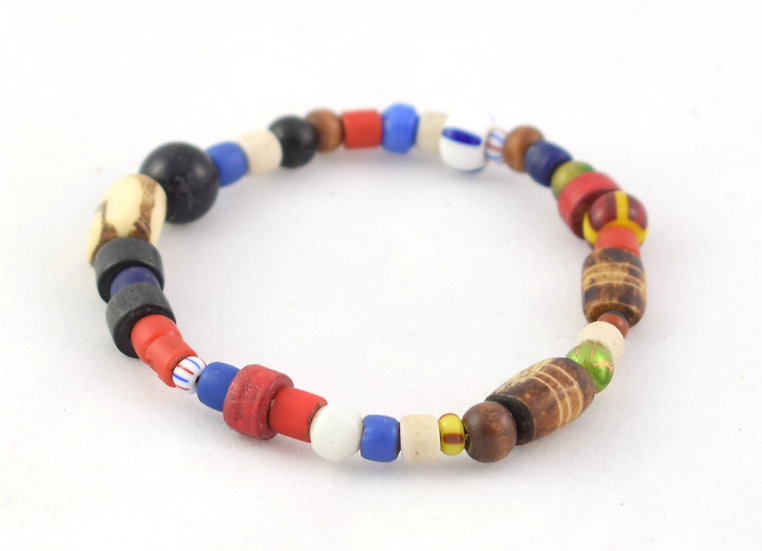 Glass Bead Bacelet - Multicoloured