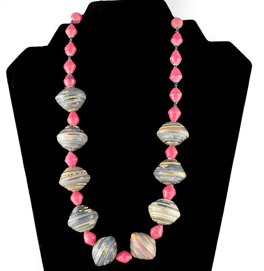 Handmade bead necklace - style 5