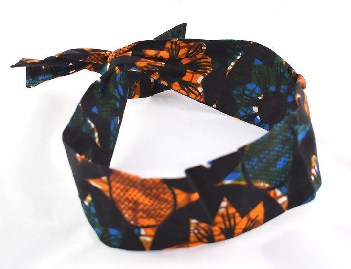 Hairband - Orange/Blue
