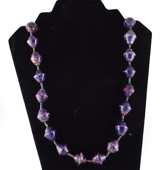 Handmade bead necklace - style 12