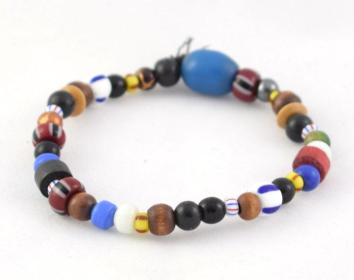 Glass Bead Bacelet - Multicoloured