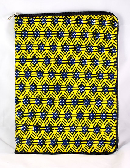 iPad / Tablet Cover - Yellow, Black & White