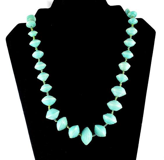 Handmade bead necklace - style 10