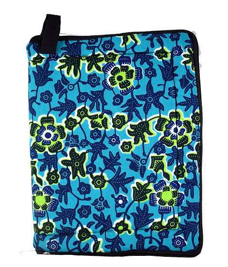 iPad / Tablet Cover - Blue, Green & Black