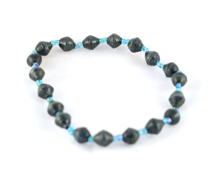 Handmade bead anklet - style 3