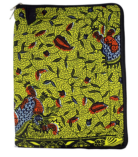 iPad / Tablet Cover - Black, Yellow & Red