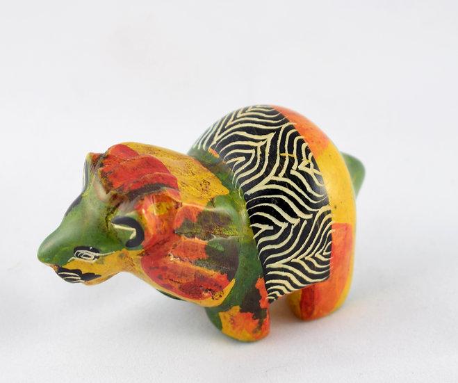 Handmade stone animal ornament - style 6