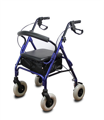 רולטור אלומיניום 4 גלגלים 200*50