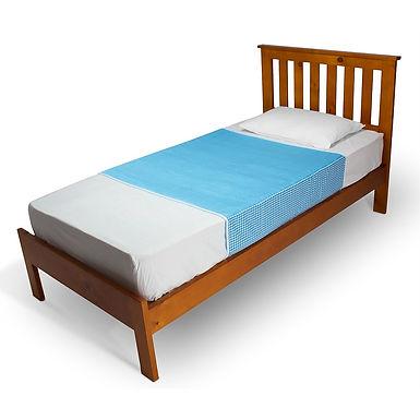ברולי מגן מזרון סופג למיטת יחיד עם כנפיים