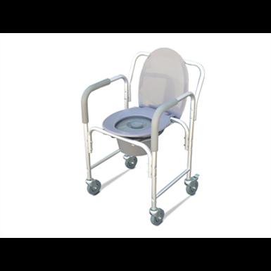 כסא שירותים קומוד עם גלגלים