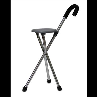 מקל הליכה + כיסא מתקפל