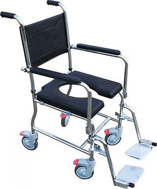 כסא רחצה ושירותים נירוסטה