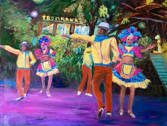 Tropicana Dancers