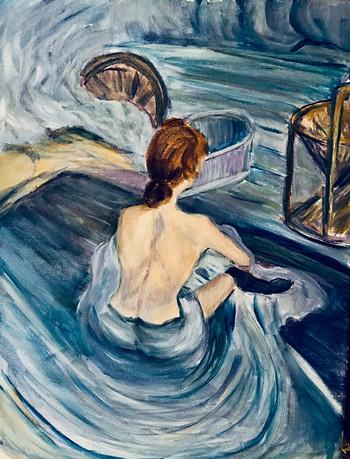Variation on Toulouse Lautrec
