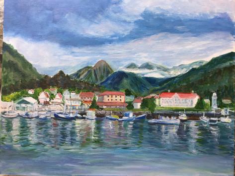 Small Town in Alaska
