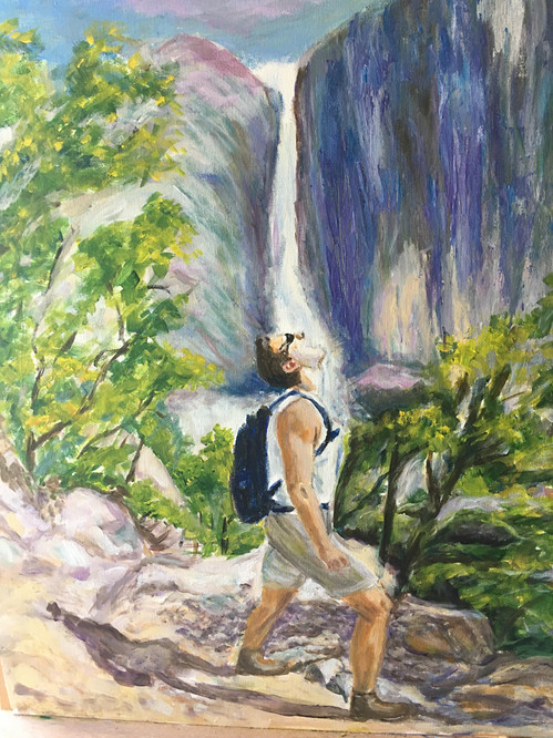 Yosemiti waterfall