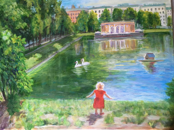 Patriarchy Pond Morning, Moscow