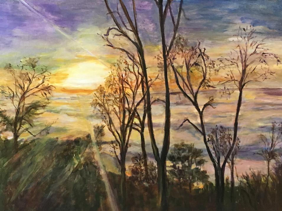 Glassy Sunset (South Carolina)