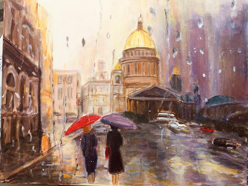 St Petersburg Rain