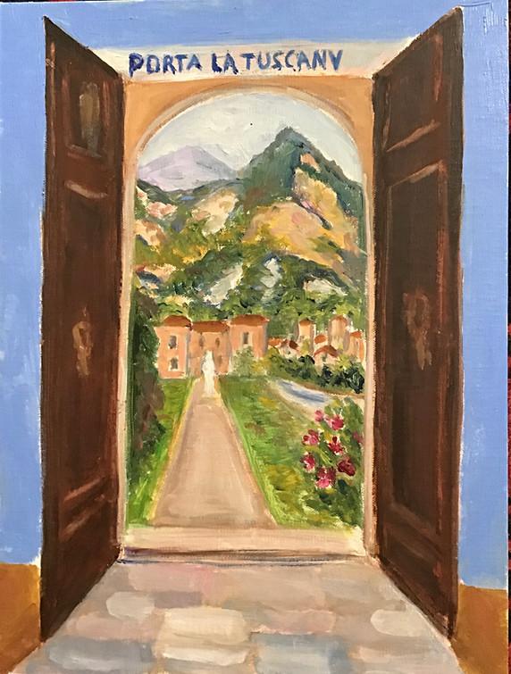 Window to Tuscany