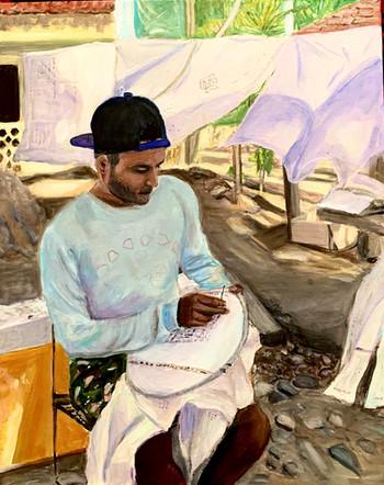 Linen seller