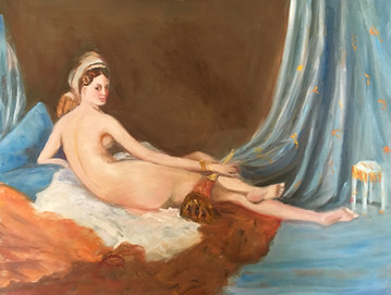 Odalisque by Ingres