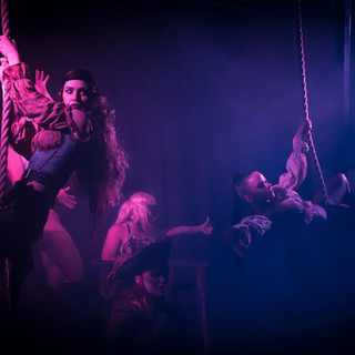 Queens of the Damned Theatre Restaurant Melbourne The Pirate Experience Dinner and Show