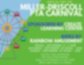 Miller-Driscoll PTA Carnival Sponsored b