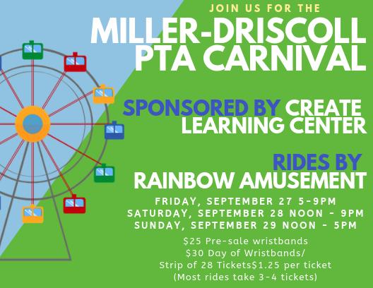Miller Driscoll PTA Fall Carnival