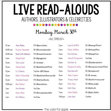 LIVE READ ALOUDS