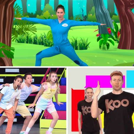12 YouTube Channels to Get Kids Moving Indoors