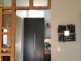 Four Directions Mirror, installed_