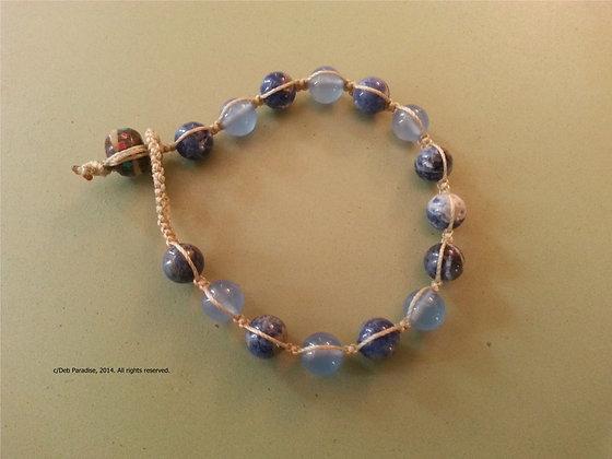 Sodalite & Blue Chalcedony Energy Bracelet