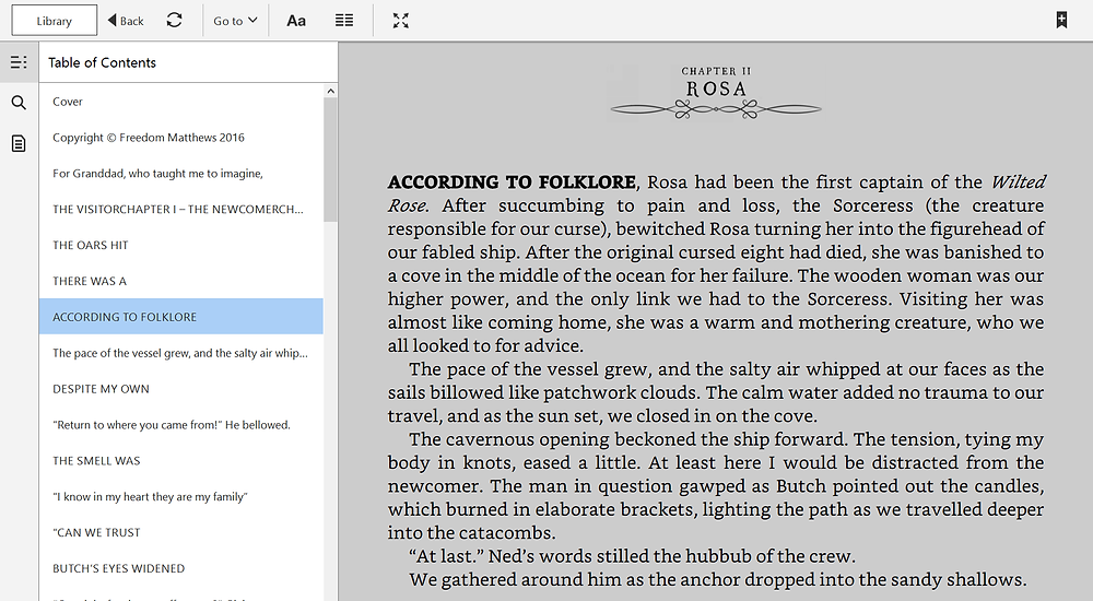 Table of Contents bookmarks add confusion