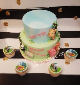 Georgie's Cakes dieren doop taart.jpg