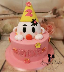 Bumba meisje cake - Georgie's Cakes.jpg