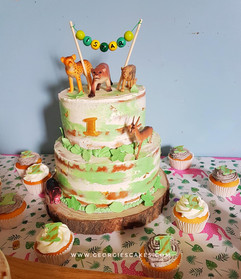 Jungel thema nakedcake en cupcakes.jpg