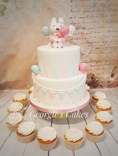 Georgie's Cakes 1e verjaardag lief klein