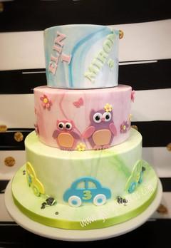 Georgie's Cakes broer en zus verjaardags
