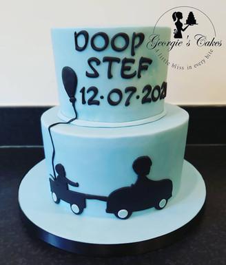 Doop taart jongen - Georgie's Cakes.jpg