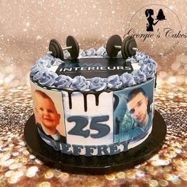 Blauw-wit dripcake - Georgie's Cakes.jpg