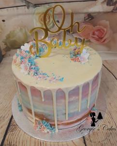 Oh Baby dripcake - Georgie's Cakes.jpg