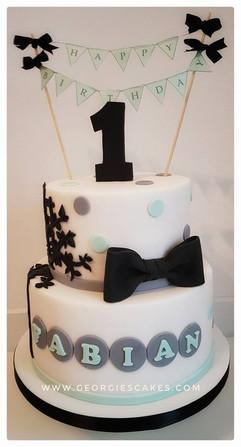 Georgie's Cakes 1e verjaardag taart.jpg