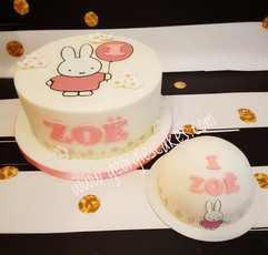 Georgie's Cakes lief konijntje 1e verjaa
