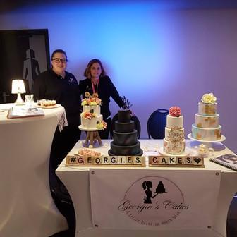 Georgie's Cakes Wedding Fair Etten Leur.