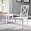 Thumbnail: White X-Back Chair